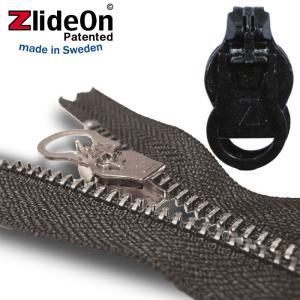 ズライドオン ZlideOn 10C-1 ブラック 丸ダブルプルタブ  ファスナー・ジッパー・チャックの簡単修理ツール  動画|eurokitchen
