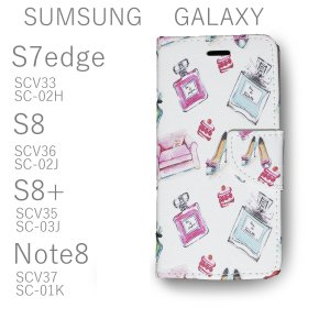 S7edge S8 S8+ Note8 Galaxy ギャラクシー 手帳型 通販 レザー ケース カ...