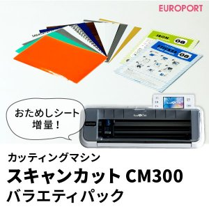 送料無料 スキャン カット CM300 ScanNCut カッティングマシン 〜296mm幅 プレゼント付き{CM300-CHA-PAC}|europort