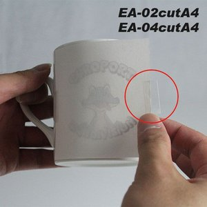 熱転写用仮止めテープ EA-02cutA4/EA-04cutA4|europort