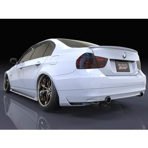 BMW E90/3シリーズ 後期型 リアマッドディフューザースポイラー エアロパーツ eurou