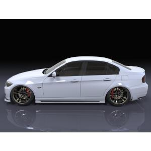 BMW E90/3シリーズ 後期型 サイドステップ エアロパーツ eurou