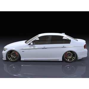 BMW E90/3シリーズ 前期型 サイドステップ エアロパーツ eurou