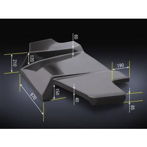 リアディフューザー タイプ4 GRX120 GRX121 マークX|eurou