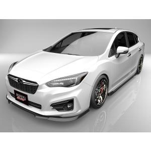 インプレッサスポーツ GT2 GT3 GT6 GT7 フロントアンダースポイラー サイドステップ 2点キット エアロパーツ eurou