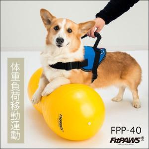 FitPAWS 犬用エクササイズ用具(バランスボール) ピーナッツ(黄)FPP-40 送料込(商品11,664円+送料756円=合計12,420円)|eva
