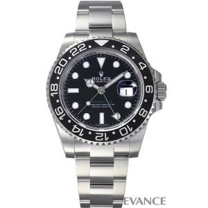 ロレックス GMTマスターII 116710LN 黒ベゼル ランダム番 メンズ ROLEX (中古)|evance-web