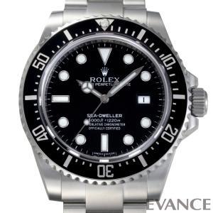 ロレックス シードゥエラー4000 116600 ブラック メンズ ROLEX (中古)|evance-web