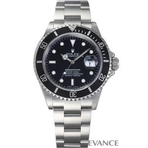 ロレックス サブマリーナデイト 16610 ブラック F番 メンズ ROLEX (中古)|evance-web