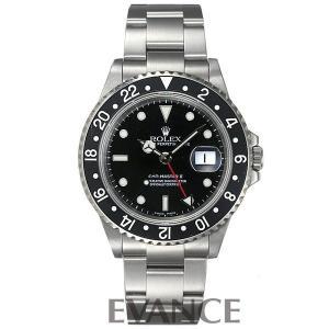 ROLEX ロレックス GMTマスターII 16710 黒ベ...