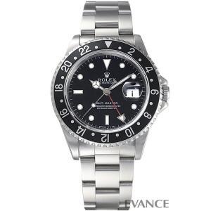 ロレックス GMTマスター 16700 黒ベゼル W番 メンズ ROLEX (中古)|evance-web