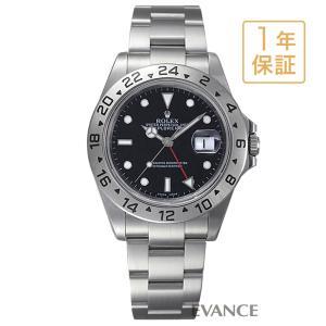 ロレックス エクスプローラーII 16570 ブラック K番 メンズ ROLEX (中古)|evance-web