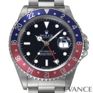 ロレックス GMTマスターII 16710 赤青ベゼル S番 メンズ ROLEX (中古)|evance-web