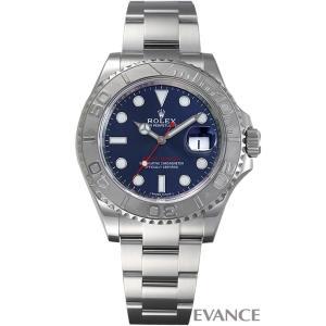 ロレックス ヨットマスター40 116622 ブルー メンズ ROLEX (中古)|evance-web