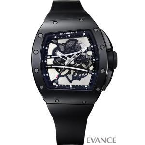 リシャールミル ヨハン・ブレイク 100本限定 RM61-01 ブラック メンズ RICHARD MILLE (中古)|evance-web