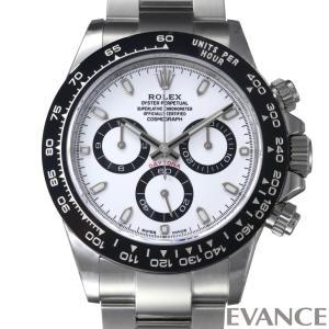 ロレックス デイトナ 116500LN ホワイト メンズ ROLEX (新品)|evance-web