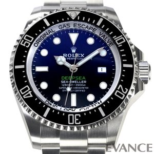 ロレックス シードゥエラー ディープシー D-blueダイアル 126660 メンズ ROLEX (新品)|evance-web