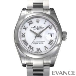 ロレックス デイトジャスト レディース 179160 ホワイト ROLEX (新品)|evance-web