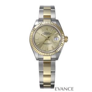 ロレックス デイトジャスト28 279173 シャンパン レディース ROLEX (新品)|evance-web