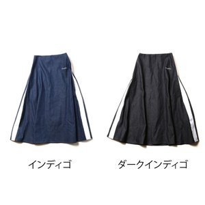 RADIO EVA 641 EVANGELION LINE DENIM LONG SKIRT|evastore