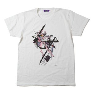 RADIO EVA 408 Abstract EVANGELION T-Shirt(KENTA KAKIKAWA)/8号機(ホワイト)|evastore