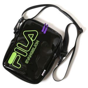 RADIO EVA 651 FILA CLEAR MINI SHOULDER BAG EVANGELION LIMITED/BLACK (EVA-01)|evastore