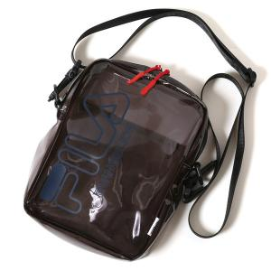 RADIO EVA 651 FILA CLEAR MINI SHOULDER BAG EVANGELION LIMITED/GRAY (KAWORU)|evastore
