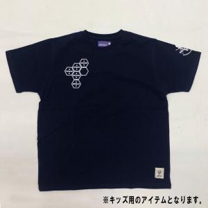 エヴァンゲリオンEMERGENCYTシャツネイビー/キッズ(三高) evastore