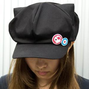ACOS ヱヴァンゲリヲン新劇場版:Q アスカの帽子 缶バッチ付 evastore