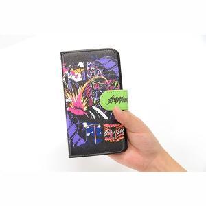 EVA STORE TOKYO-01 オリジナル アメコミ風(comic)手帳型スマートフォンケース|evastore|03