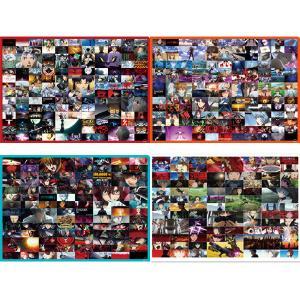 EVA STORE オリジナル エヴァンゲリオンシリーズ場面写クリアファイル/「:序」「:破」「:Q」「シン」4点セット|evastore