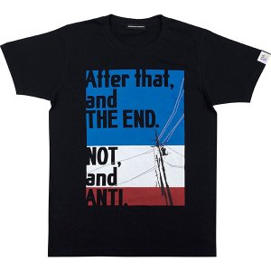 EVA STOREオリジナル【EVA BG 002】After that,and THE END. NOT,and ANTI. Tシャツ|evastore