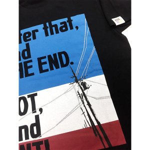 EVA STOREオリジナル【EVA BG 002】After that,and THE END. NOT,and ANTI. Tシャツ|evastore|03