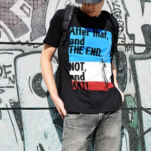 EVA STOREオリジナル【EVA BG 002】After that,and THE END. NOT,and ANTI. Tシャツ|evastore|05