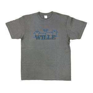 EVASTORE オリジナルTシャツ/WILLEクルー/チャコールグレー evastore
