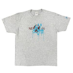 EVASTORE オリジナルTシャツ/WILLE(ペイント)/グレー evastore