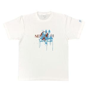 EVASTORE オリジナルTシャツ/WILLE(ペイント)/ホワイト evastore