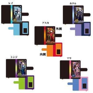 ヱヴァンゲリヲン新劇場版 ステンドグラス柄 汎用手帳型スマートフォンカバー|evastore