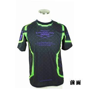 エヴァレーシング【2017】2輪チーム・速乾Tシャツ/初号機BODY黒 evastore