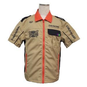 エヴァンゲリオンレーシング【2018】ZIPシャツ(NERV...