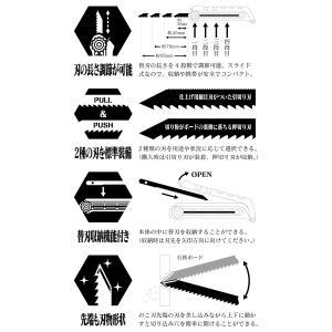 【ワークブランドA.T.FIELD】ボードのこ /初号機モデル(角利産業) evastore 09