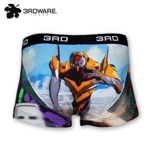 EVANGELION Boxer pants by 3RDWARE 零号機・初号機・2号機|evastore