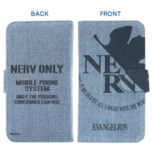 EVANGELION Smartphone Denim Case[NERV Model]/マルチタイプ(エガヲズ) evastore