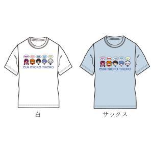 EVA MICRO MACRO Tシャツ/全員集合(企業計画) evastore