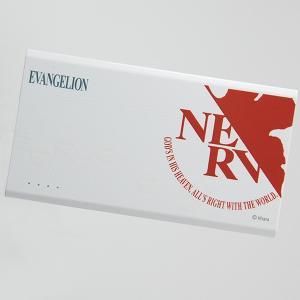 【受注生産品】オリモバ!EVAモバイルバッテリー6K NERVロゴ赤/ボディ白横(マクセル製) evastore