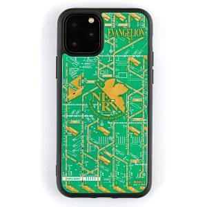 FLASH NERV 基板アート iPhone11Proケース/緑(電子技販)