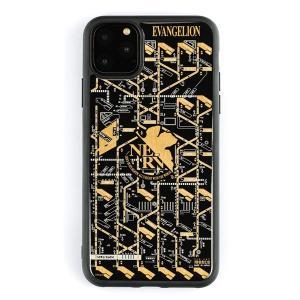 FLASH NERV 基板アート iPhone11Pro Maxケース/黒(電子技販)
