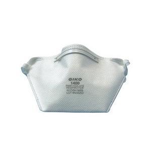 新型インフルエンザ パンデミック対策 N95規格 ノーズフィルター付き 不繊布 マスク GIKO1400 10枚入り