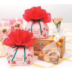 【5/13母の日】ラッピング袋 【カーネーション】 1個|event-goods