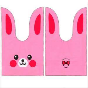 かわいい耳付き袋(小) うさぎ(ピンク) 50枚入|event-goods